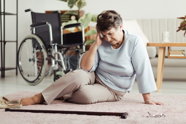Senior Citizen Slip and Fall Accidents